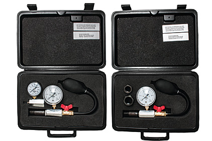 Pressure and temperature test kits