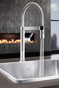 blanco mini faucet for open kitchen space 2014 04 22 plumbing and mechanical. Black Bedroom Furniture Sets. Home Design Ideas