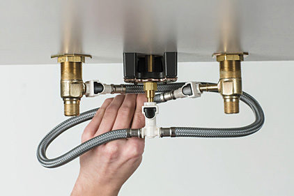Moen Quick Connect Installation System
