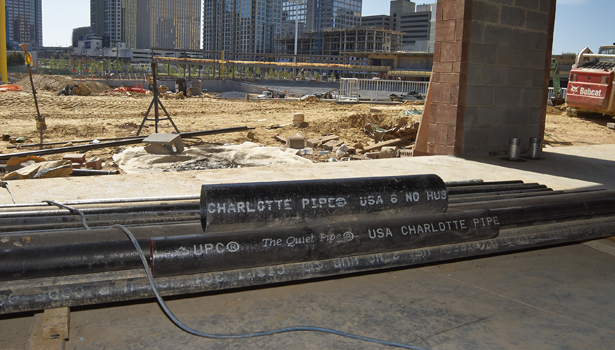 Stadium is new home to the Charlotte Knights minor league baseball team.