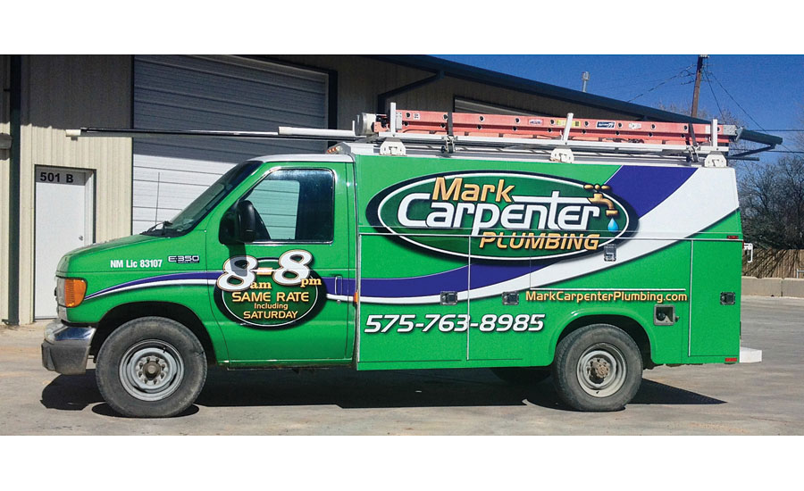 Mark Carpenter Plumbing truck