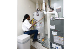Installing new high-efficiency water heaters