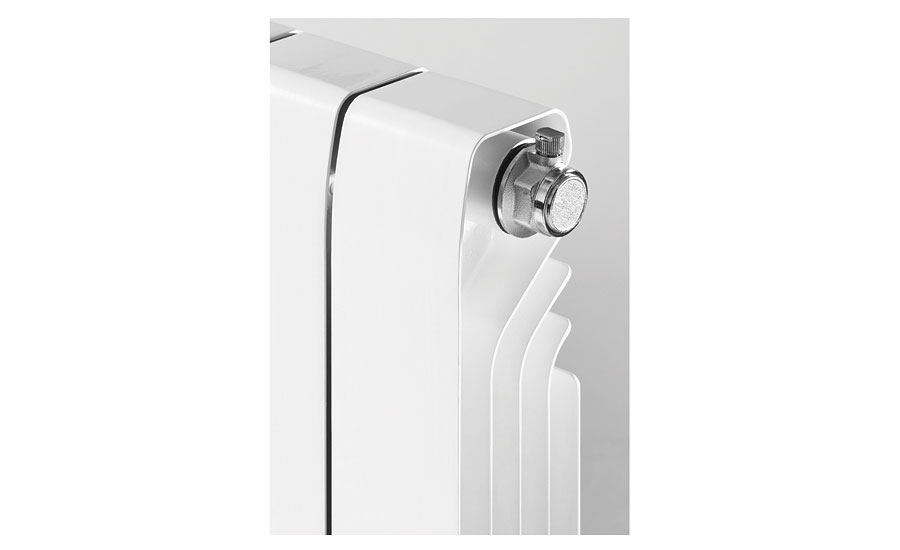 Marathon-Baxi high-output wall panel radiator