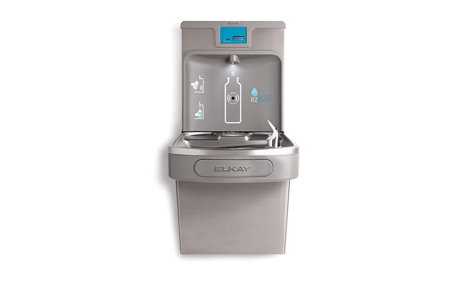 Elkay self-diagnostic bottle filler