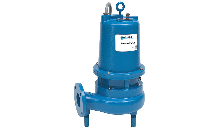 Goulds submersible sewage pump