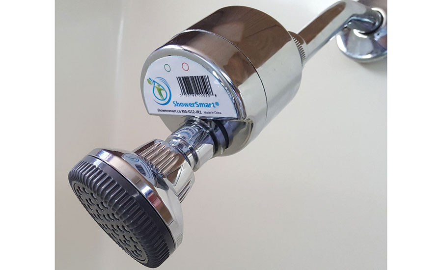 ShowerSmart water-saving shower control