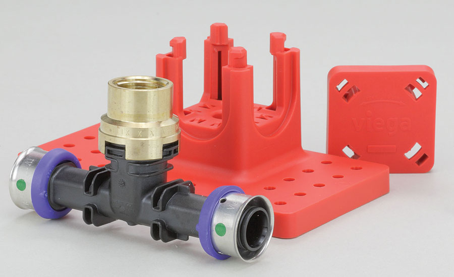 Viega PEX fire protection fittings