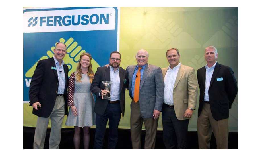 American Standard Brands recently was named Ferguson's Showroom Plumbing Vendor of the Year.