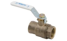 Watts bronze ball valves