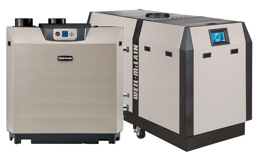 Weil-McLain commercial condensing boiler