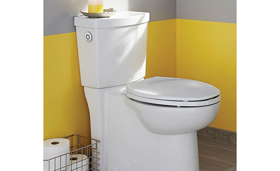 American Standard touchless high-efficiency toilet