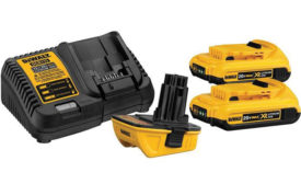 DeWalt 20V battery adapter