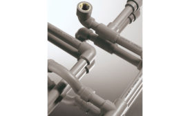 F.W. Webb polypropylene pipe and fitting system