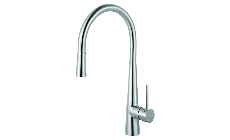 Franke stainless-steel kitchen faucet
