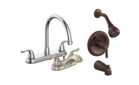 Matco-Norca faucet packs for builders