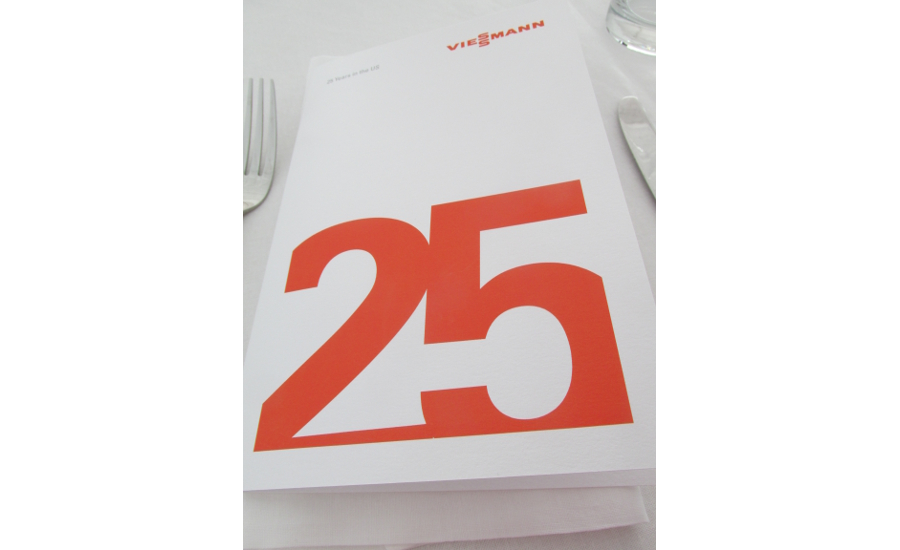 Viessmann celebrates 25 years in the United States