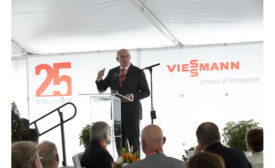 Dr. Martin Viessmann at Viessmann U.S. headquarters