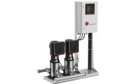 Grundfos compact pressure-boosting pump system