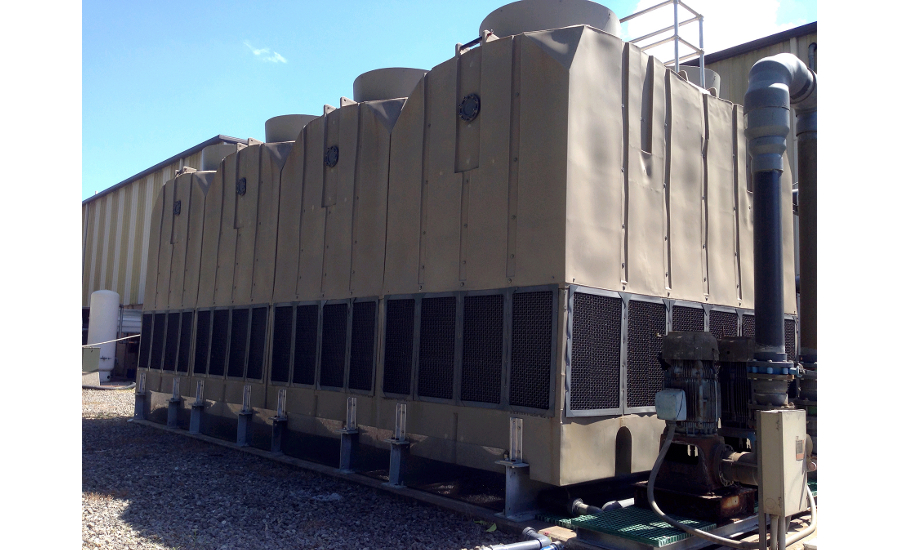 Modular Plastic Cooling Towers Solve Corrosion Problems