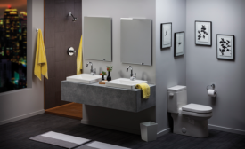 Gerber square lavatory sinks