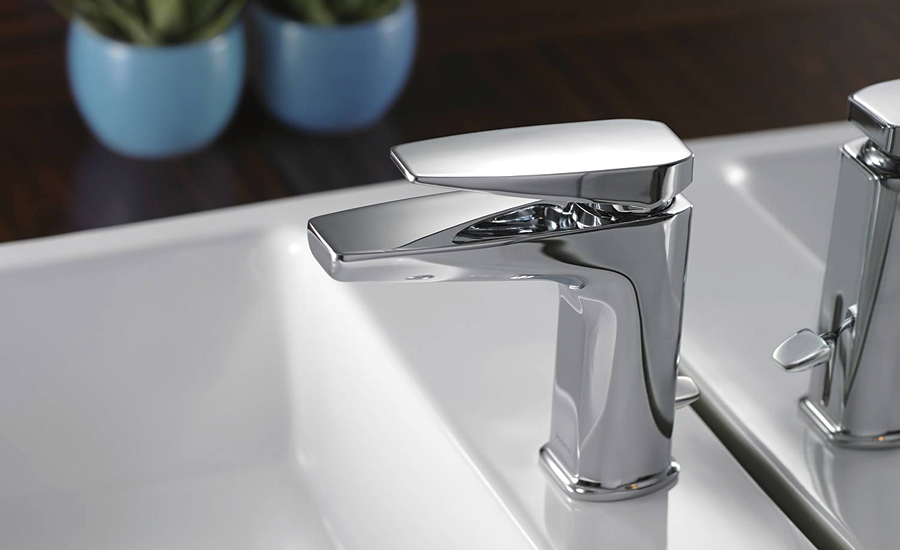 Remodeling for small bath spaces: Single-handle faucets