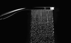 California Faucets air-infused showers