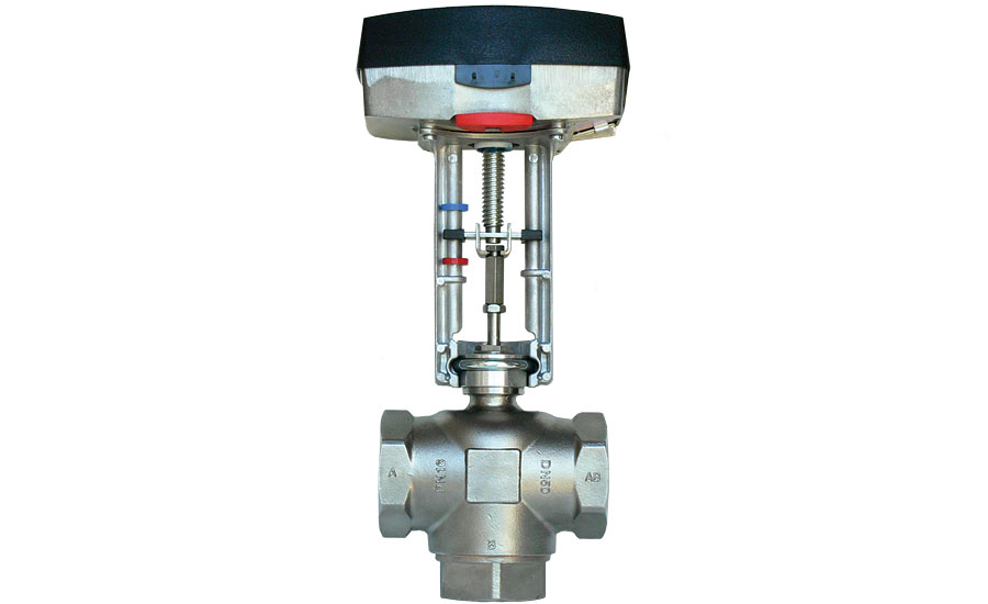 Paxton Controls stainless-steel mixing valve
