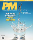 Plumbing and Mechanical February 2016 cover: Relieving customer water concerns; contaminated water, Water Quality Association, lead-free, legionnella
