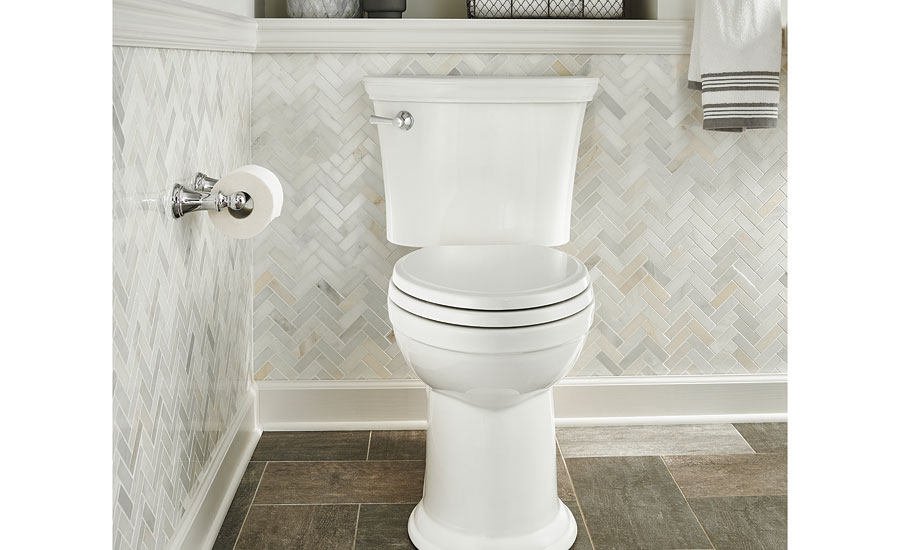 American Standard's Heritage toilet; water conservation, high-effiency toilet