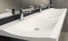 Bradley commercial lavatory sink; commercial lavatory sink, commercial bathroom sink, Verge LVS
