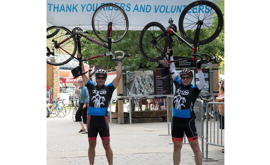 Werner helped create Team Danze cycling group to raise money for various charities.