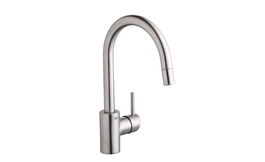 Grohe Pull-down, spray-head faucet