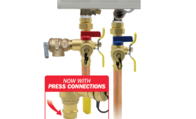 Webstone tankless water heater service valves