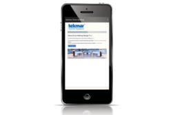 tekmar snow- and ice-melting app