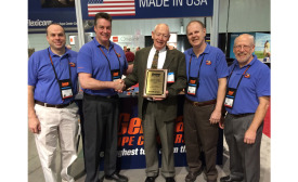 General Pipe Cleaners awarded manufacturers rep Ford Williams the Bob Gelman Lifetime Achievement award Jan. 20