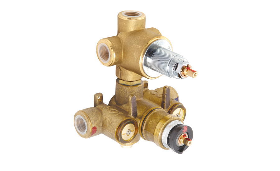 Newport Brass thermostatic mixing valves