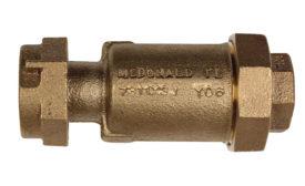 dual check valve