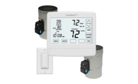 eControls wireless thermostat