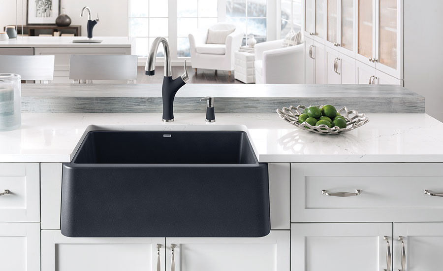 Blanco durable apron-front kitchen sink