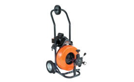 General Pipe Cleaners lightweight sewer-cleaning machine