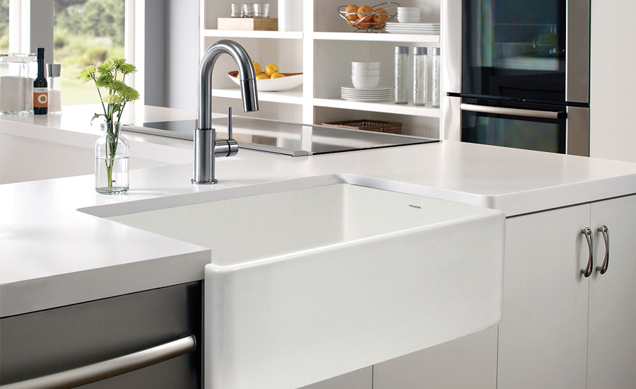 Houzer reversible kitchen sink