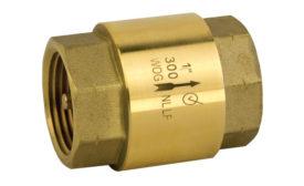 Jomar Valve lead-free inline check valve