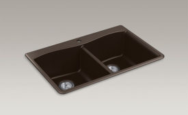 Kohler tough composite kitchen sinks