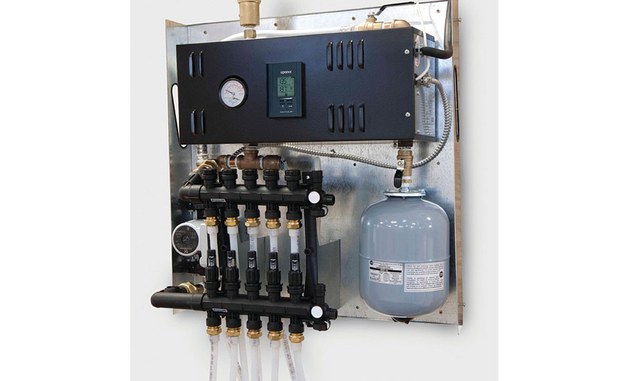 Uponor radiant control panel; hydronic products, plumbing products, tools, green heating