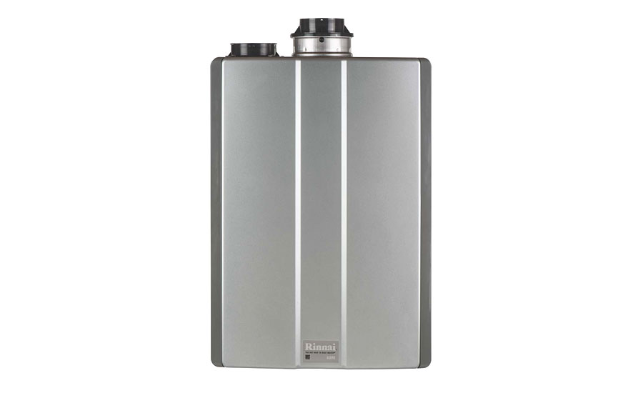 Rinnai condensing tankless water heater; hydronic products, plumbing products, tools, green heating