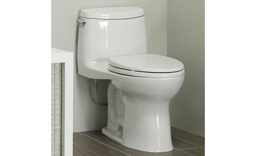 TOTO high-efficiency toilet; hydronic products, plumbing products, tools, green heating