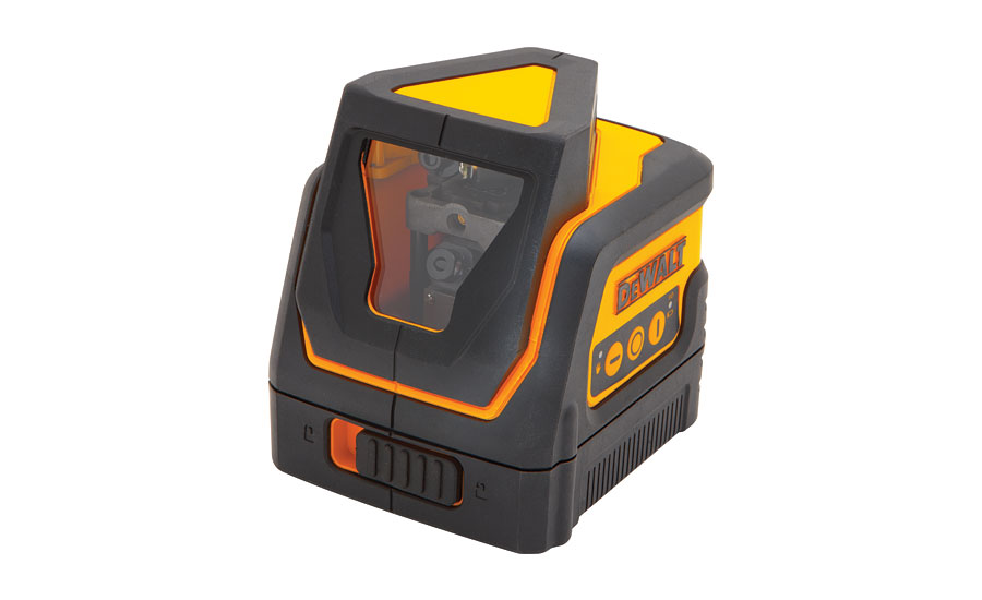 DeWalt self-leveling 360° line laser; hydronic products, plumbing products, tools, green heating