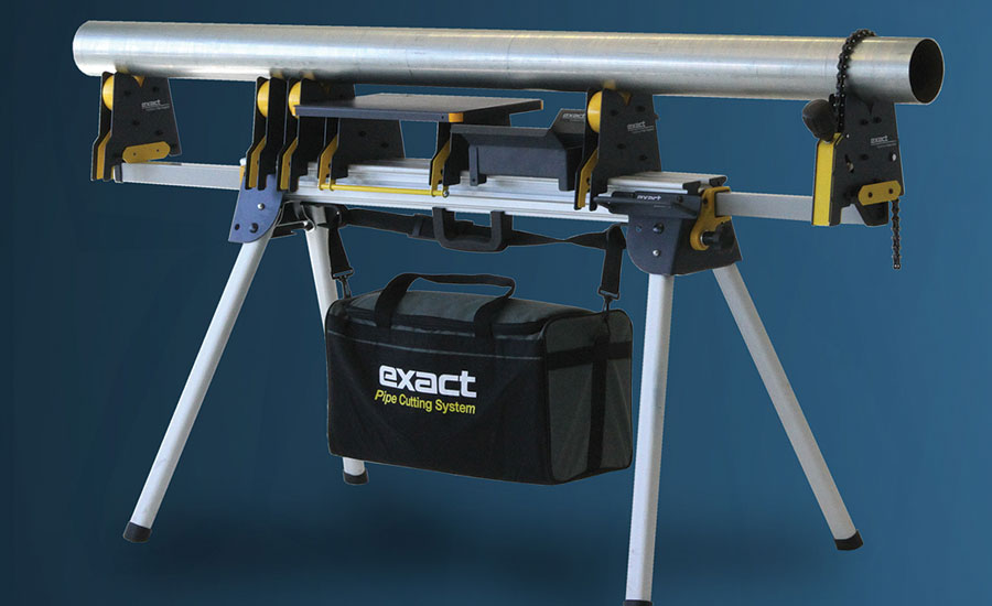Exact Pipe Tools portable pipe stand