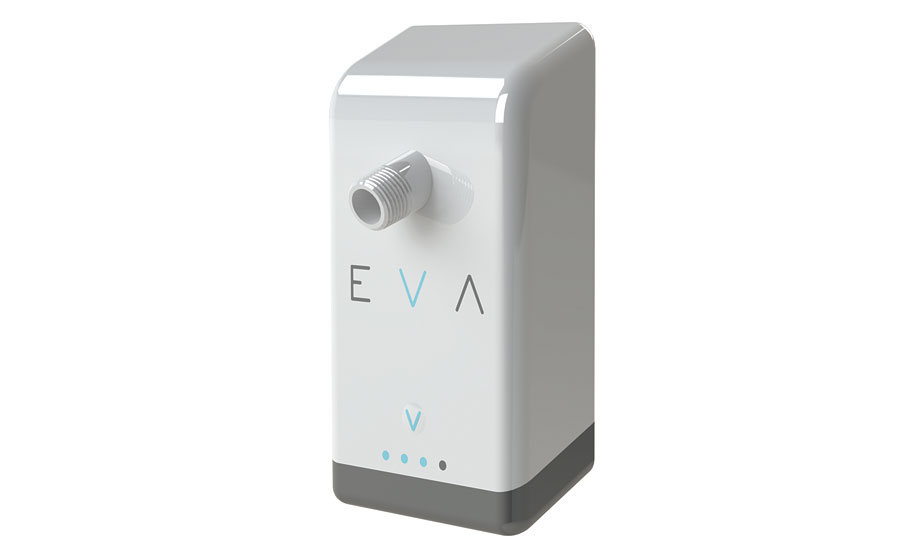 Eva water-saving shower device; hydronic products, plumbing products, tools, green heating
