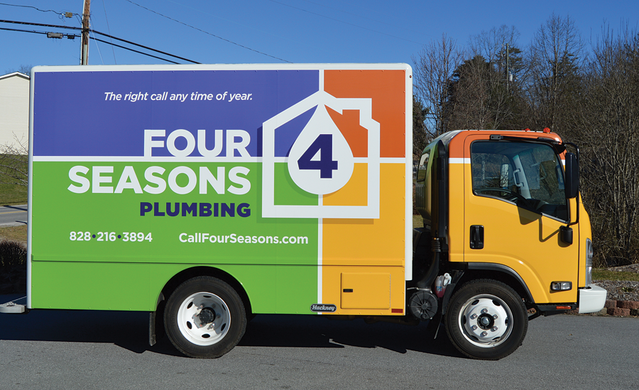 Four Seasons Plumbing from Asheville, N.C.